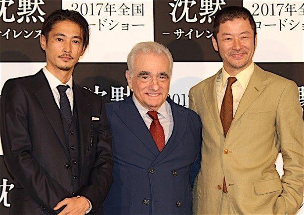 スコセッシ監督、窪塚洋介&浅野忠信を絶賛!