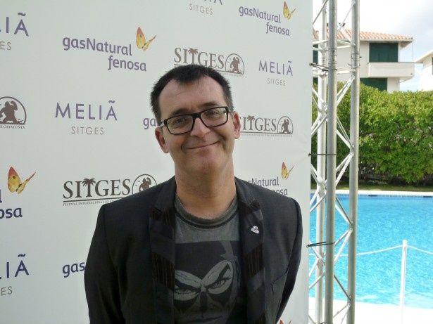シッチェス国際ファンタスティック映画祭ディレクターのアンヘル・サラ
