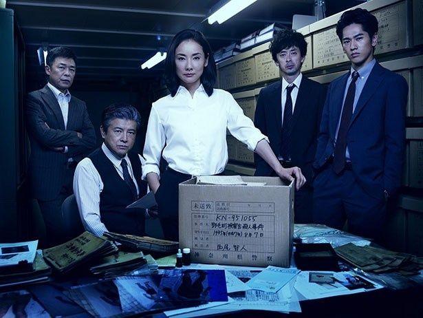 本日10月22日より日本版「コールドケース」がスタート!