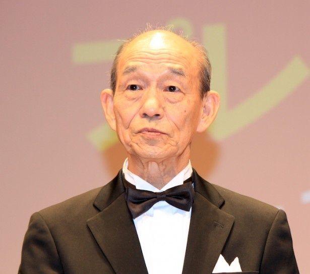 『オケ老人!』プレミア試写会に登壇した笹野高史