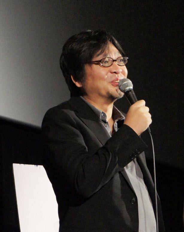 トークショー第2夜「作家性の萌芽 1999-2003」に登壇した細田守監督