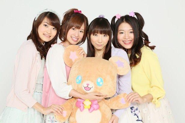 「プリキュア」に出演中の人気声優4人にインタビューを敢行!