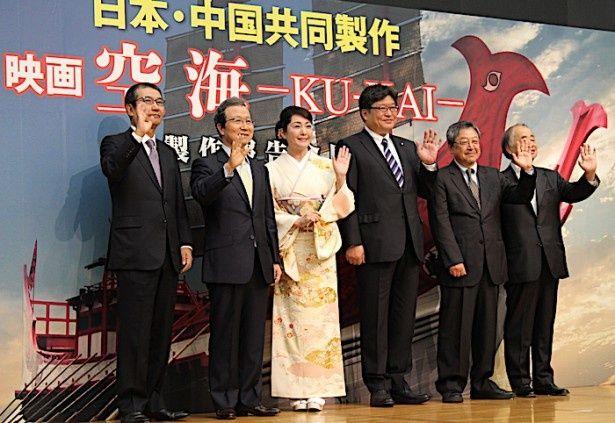 『空海 KU-KAI』は2018年公開予定
