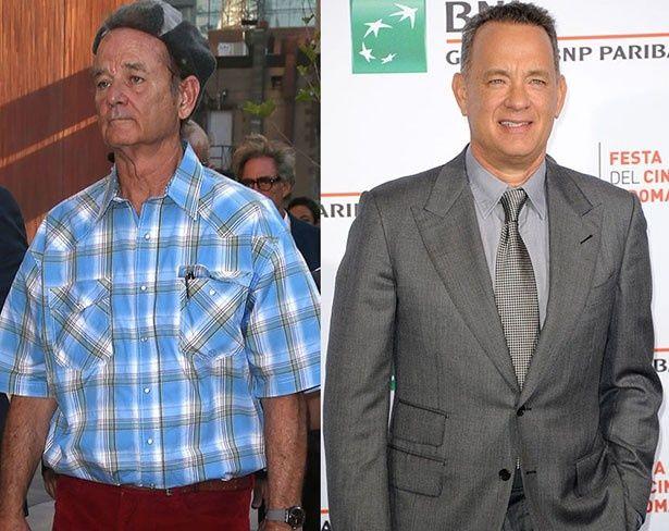 【写真を見る】そんなに似てる!?ビル・マーレイとトム・ハンクス