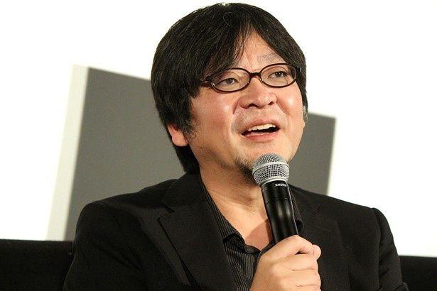 『時をかける少女』のトークイベントに登壇した細田守監督