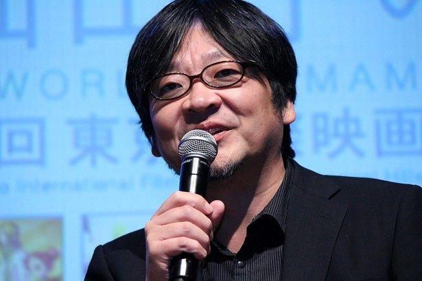 アニメーション監督・堤大介とのトークイベントに登壇した細田守監督