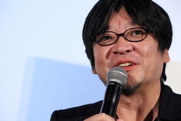15年に公開された最新作『バケモノの子』のトークショーに出席した細田守