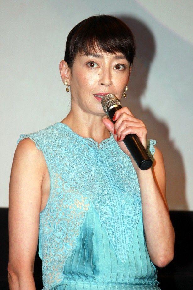 宮沢りえが主演映画『湯を沸かすほどの熱い愛』への思いを語る