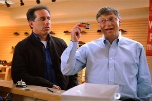 マイクロソフトのCMには、ビル・ゲイツが出演し話題に