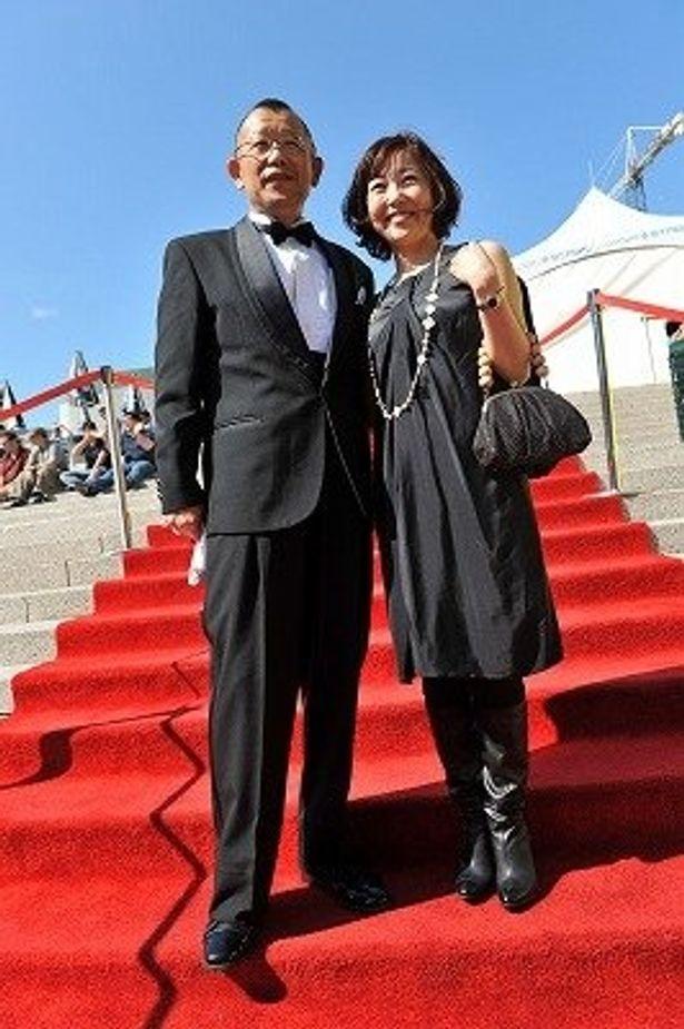 美人と評判の西川美和監督もレッドカーペットに!