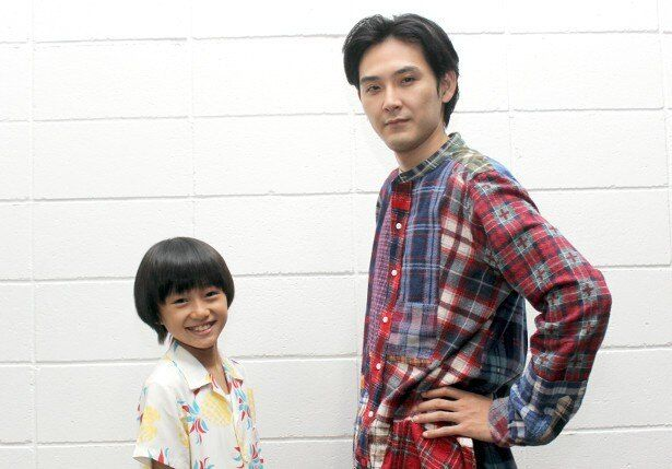 『ぼくのおじさん』で共演した松田龍平と大西利空
