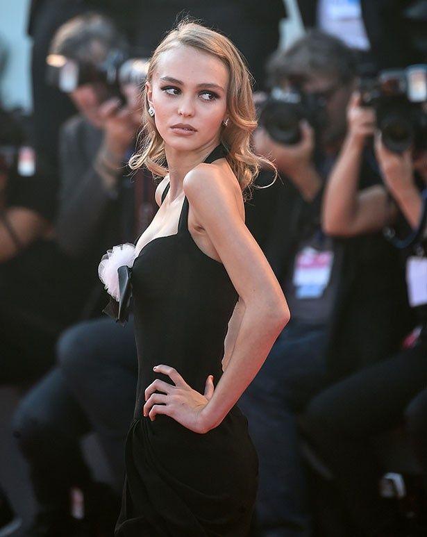 今年のヴェネチア国際映画祭で美貌を絶賛されたリリー