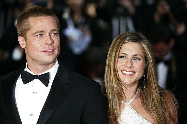 2005年に離婚したブラッドとジェニファー