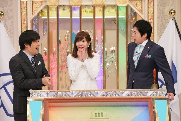 「あるある議事堂」のSPに出演する今田耕司、指原莉乃、バカリズム(写真右から)