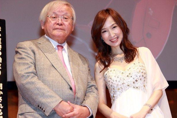 『機動戦士ガンダム THE ORIGIN』の安彦良和監督と森口博子