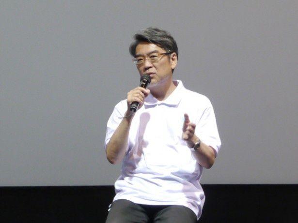 KADOKAWA代表取締役 専務執行役員の井上専務