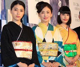 橋本愛が「惚れていました」と松雪泰子に公開告白!艶やかな着物姿で美の競演