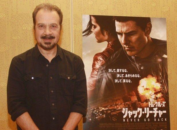 『ジャック・リーチャー NEVER GO BACK』のエドワード・ズウィック監督