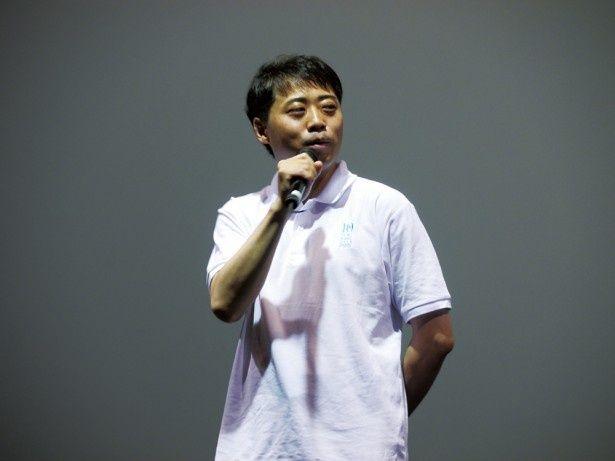 細田監督とスタジオ地図を立ち上げた代表取締役の齋藤P