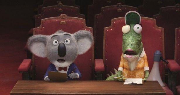 英語版ではコアラのバスタームーンの声を名優マシュー・マコノヒーが演じる