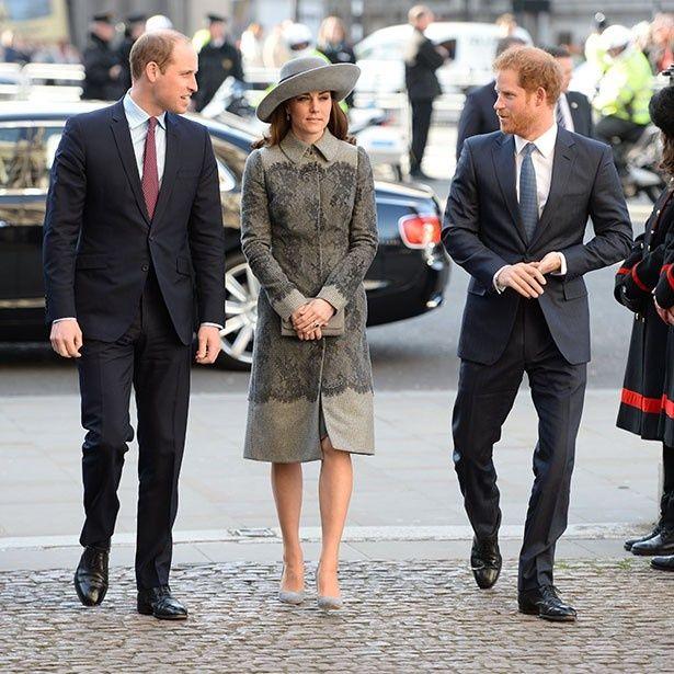 ヘンリー王子に恋人ができ、ウィリアム王子夫妻は祝福しているようだ