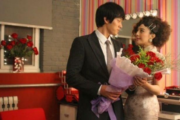 相手役は韓国の人気俳優、ソ・ジソブ