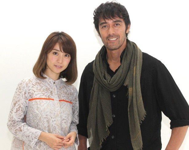 『疾風ロンド』で共演した阿部寛と大島優子