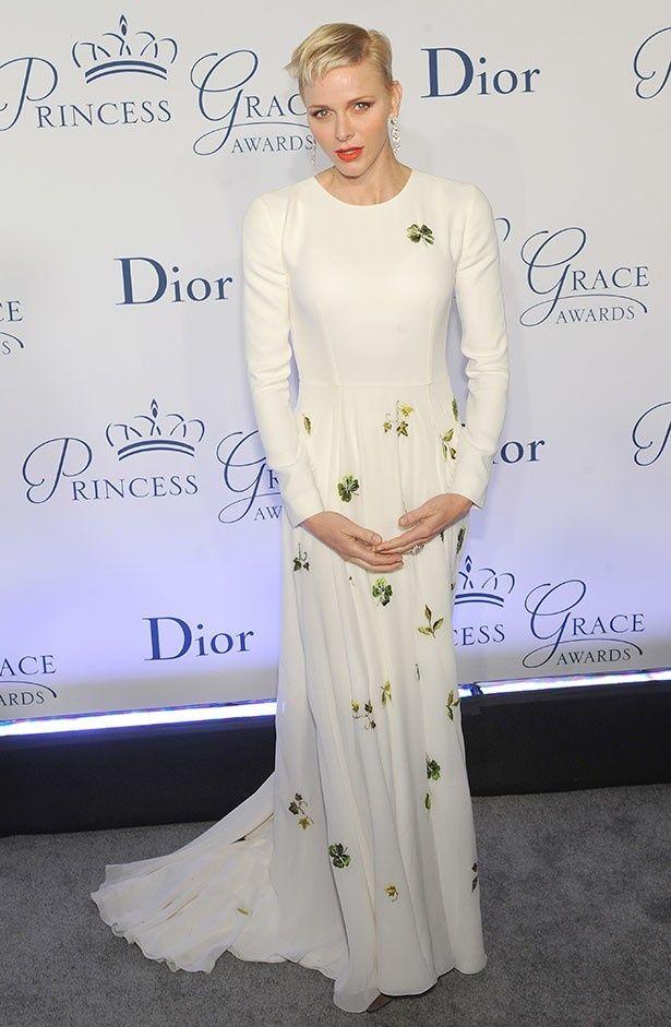 その美貌と憂いを帯びた表情で人気を博すシャルレーヌ公妃