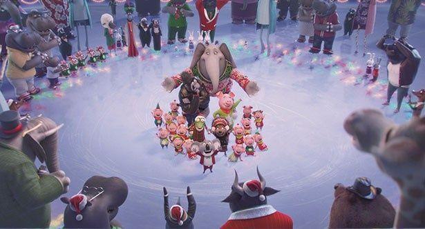 『SING/シング』の陽気なクリスマス特別映像が到着