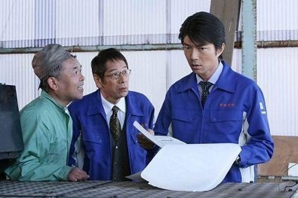 運送会社社長を演じる仲村トオル