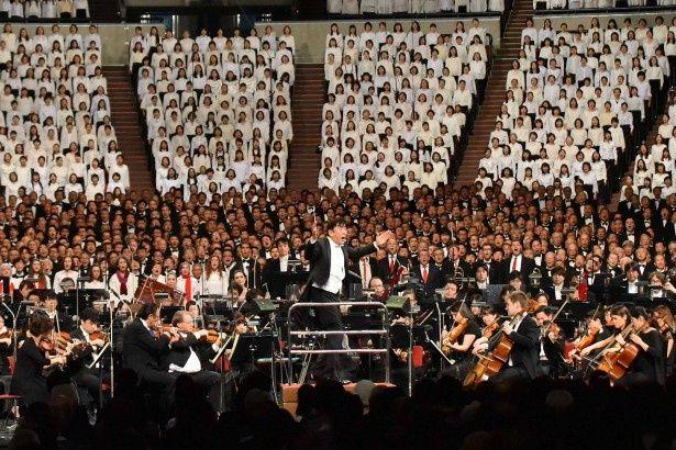 12月4日に「サントリー1万人の第九」を開催。コンサートの模様は12月23日(金)の「1万人の第九~発見!理由(ワケ)ありクラシック」で放送される
