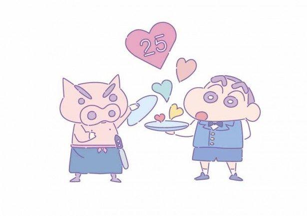 テレビアニメ「クレヨンしんちゃん」放送開始25周年記念企画の「ビストロ オラマチ」が東京に続き大阪、名古屋でもオープン