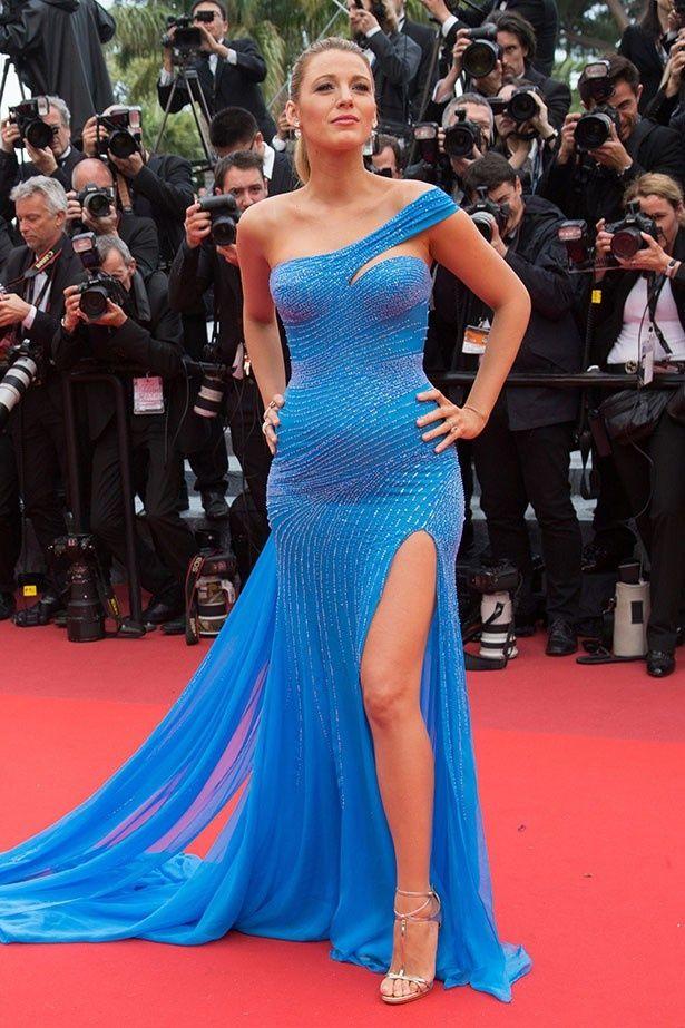 妊婦ドレス姿を絶賛されたカンヌ国際映画祭でのブレイク・ライブリー