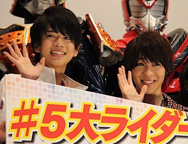 「仮面ライダーエグゼイド」と「仮面ライダーゴースト」が共演!