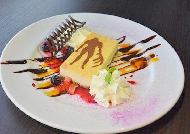 バイオハザードの世界観を感じられる「タイラント チーズケーキ」(1200円)