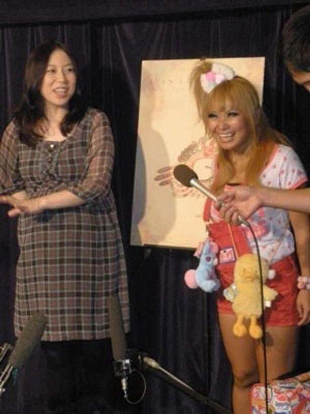漫画家、倉田真由美と浜田ブリトニーが伝説のアニメ作家に感動