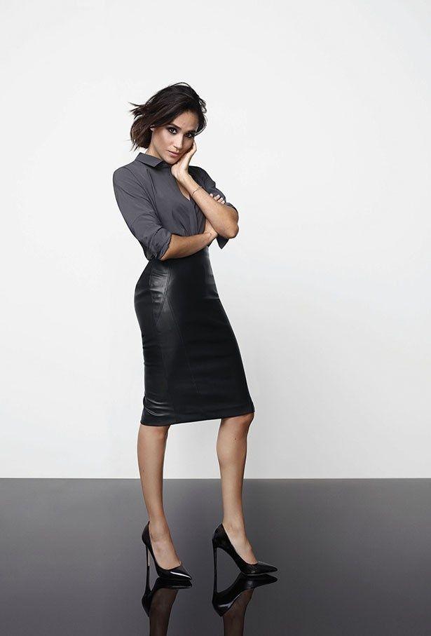 【写真を見る】モデルもこなす美女メーガン・マークル