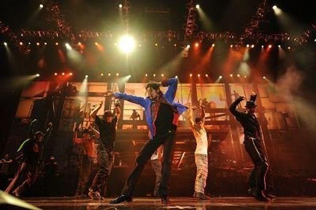 マイケルのキレのあるダンス!