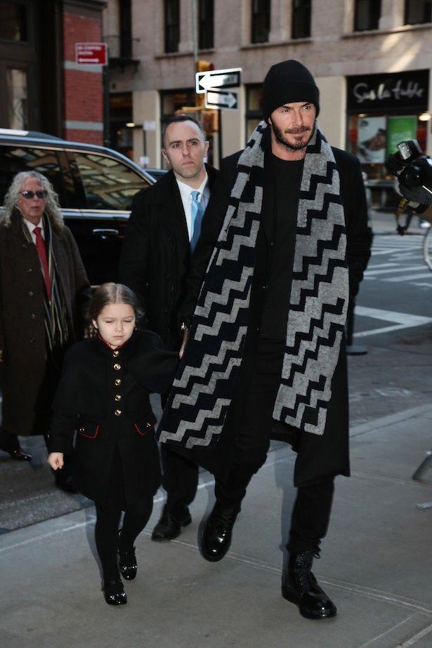 子どもたちのファッションアイコンとして注目を集める5歳のハーパー・ベッカム