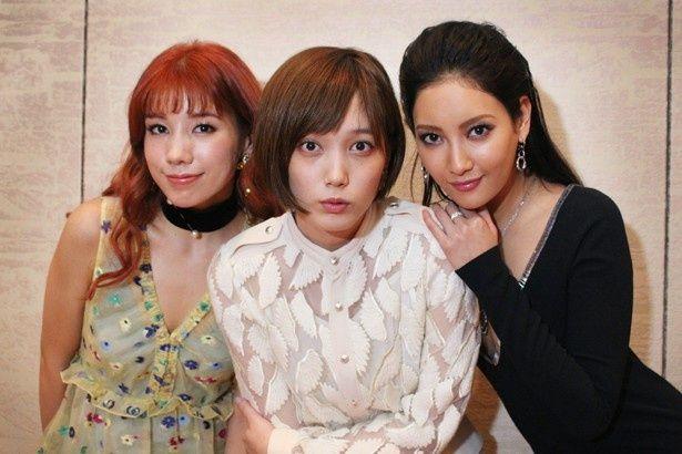 『土竜の唄 香港狂騒曲』の女優陣、本田翼、菜々緒、仲里依紗にインタビュー!