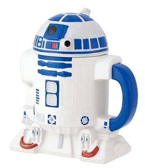 メカニックなデザインも陶器で見事に再現! 「R2-D2 マグカップ」