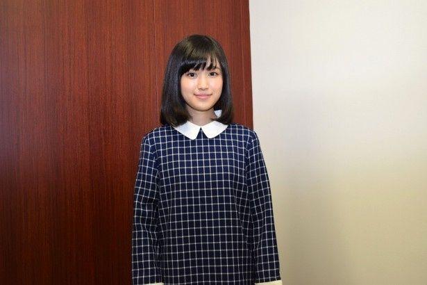 第8回東宝シンデレラオーディションでグランプリを受賞した福本莉子