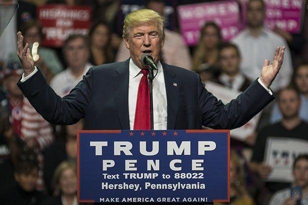 【写真を見る】メリル・ストリープから批判を受けたドナルド・トランプ次期大統領