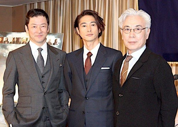 窪塚洋介、浅野忠信、イッセー尾形がスコセッシ監督作品への参加に感激!