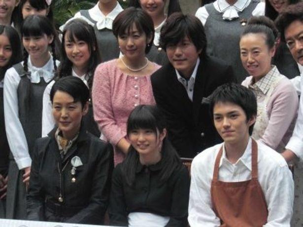 ドラマ会見で笑顔の志田未来