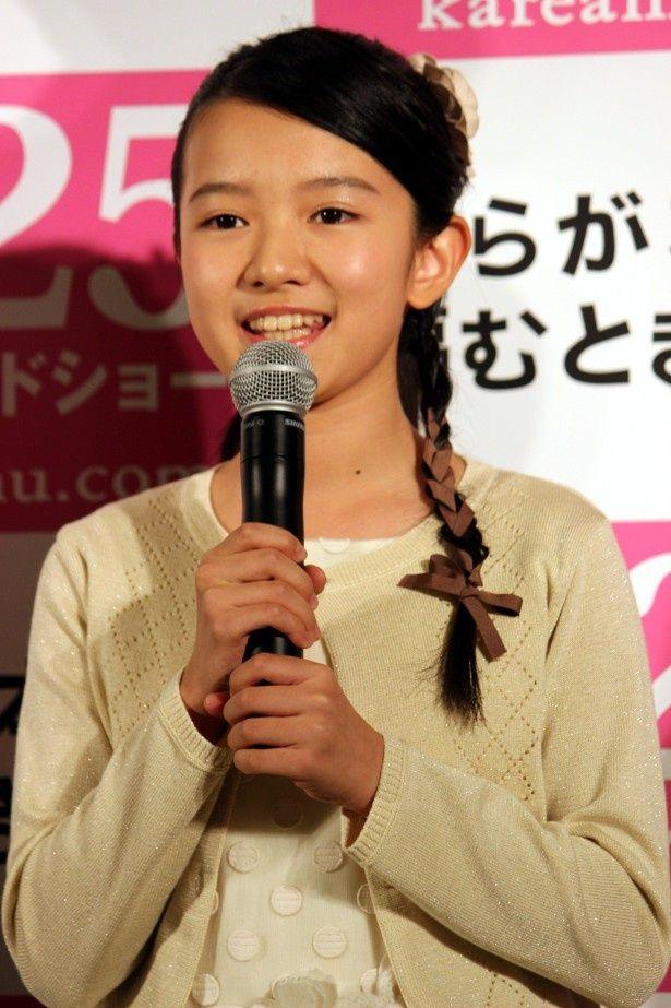 【写真を見る】可愛い!生田斗真と共演した美少女子役・柿原りんか