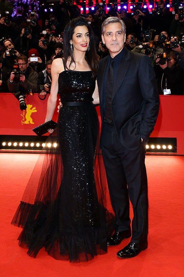 ジョージ・クルーニーの美人妻アマルがついに男女の双子を妊娠?