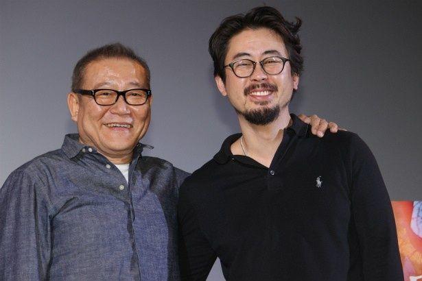 『哭声/コクソン』に出演した國村隼と監督のナ・ホンジン