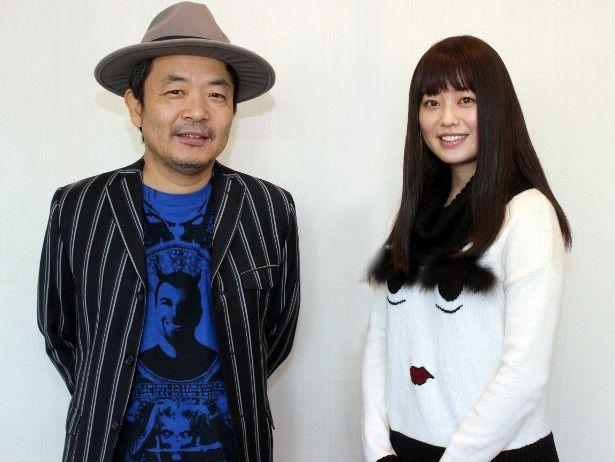 『ANTIPORNO』の冨手麻妙と園子温監督