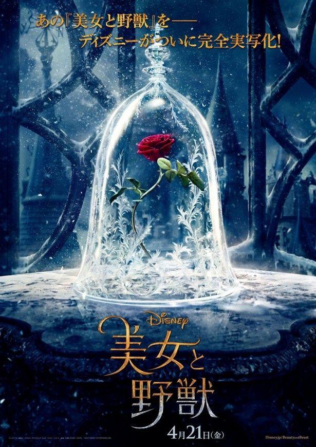 エマ・ワトソン主演で注目を集める実写映画「美女と野獣」は4月21日(金)から公開される